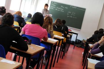 Salle de classe, salle d'examen