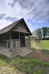 Traditional wooden cottage