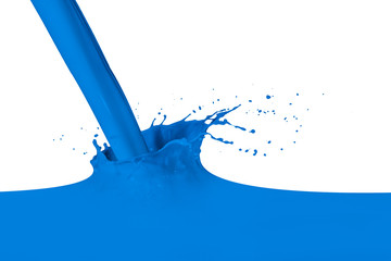 splashing paint