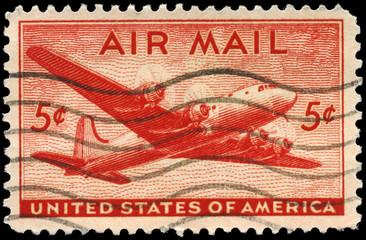 USA - CIRCA 1946 Skymaster