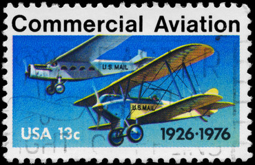 USA - CIRCA 1976 Commercial Aviation