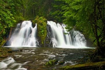 Salmon Creek Falls - Juneau Alaska