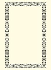 ornamental  frame vintage vector 16