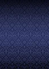 Seamless Gothic Damask Pattern