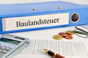 Fototapete - Baulandsteuer