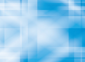 abstract light blue background with crossed bands - vector