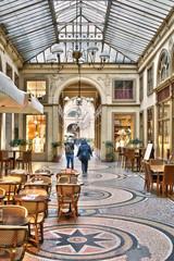 Recess Fitting Paris Paris pittoresque - Passage Vivienne