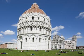 Fototapete - Pisa - Piazza del miracoli