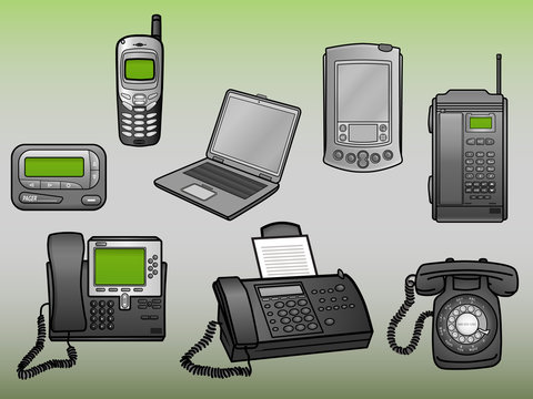 Old Communication Devices