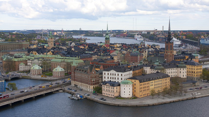 Panorama Gamla Stan Stockholm