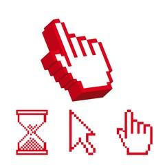 Poster Pixel cursors