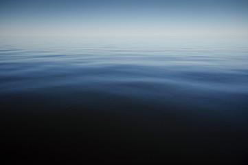 Calm blue sea at summer time