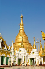 Schwedagon Temple ,Yangon,Myanmar