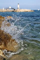 Au bord de mer