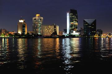 Dubai. Deira and Bank of Dubai