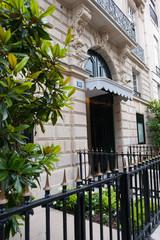 Parisian building entrance