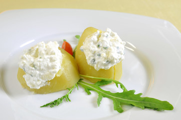 Stuffed potato appetizer, Slovak cuisine