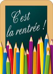 Crayons de couleurs_tableau_Rentree