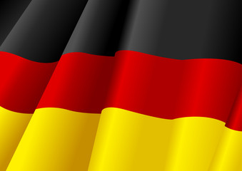 Vector illustration of Germany flag