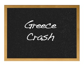 Greece crash.