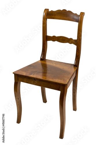 antiker stuhl aus der biedermeierzeit aus kirschbaumholz stockfotos und lizenzfreie bilder auf. Black Bedroom Furniture Sets. Home Design Ideas