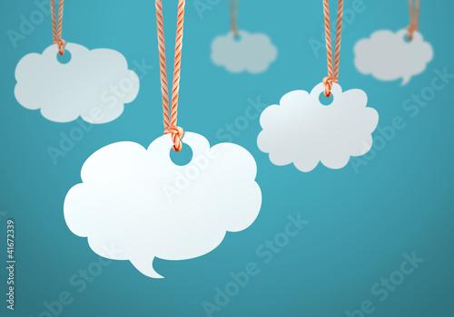 Как сделать облако мыслей