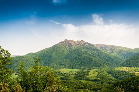 Mont Cagire dans les Pyrénées, en Haute-Garonne, Occitanie, France