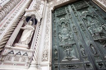 Fototapete - Firenze - Duomo  (Parvis)
