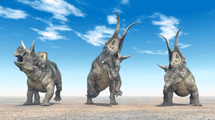 The Dinosaur Diabloceratops