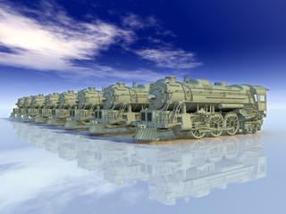 Alte Lokomotiven