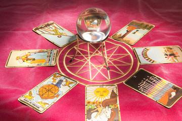 crystal ball tarot