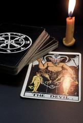 tarot card, the devil