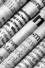 In de dag Kranten newspapers detail