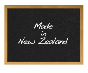 Made in New Zealand.