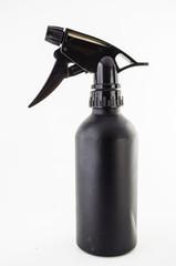 water spray bottle on white background