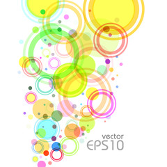Abstract colorful background, vector