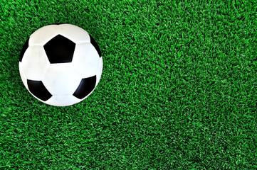 Football on artificial grass field
