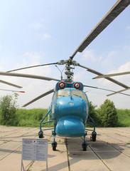 KIEV, UKRAINE- MAY 16: Ka-25 at State Aviation Museum