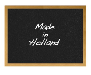 Made in holland.