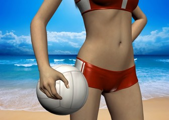 BEACH VOLLEY - 3D