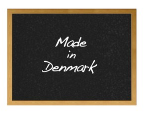 Made in Denmark.