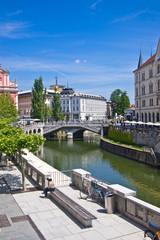 Ljubljana, capitol of Slovenia, Europe