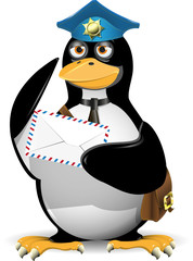 penguin postman
