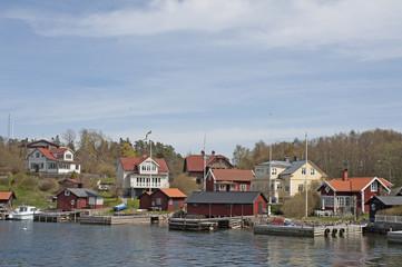 Stockholm archipelago village