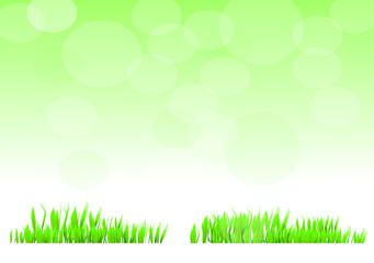 green landscape green sky