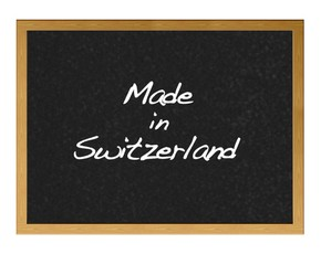 Made in Switzerland.