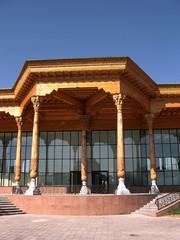 Tashkent Almazar Gallery entrance 2007