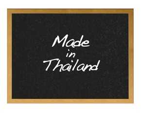 Made in Thailand.