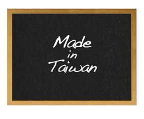 Made in Taiwan.