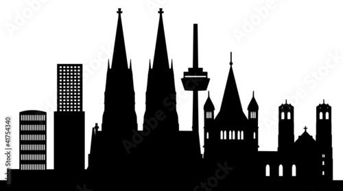 k ln skyline mit wahrzeichen stockfotos und lizenzfreie vektoren auf bild 41754340. Black Bedroom Furniture Sets. Home Design Ideas